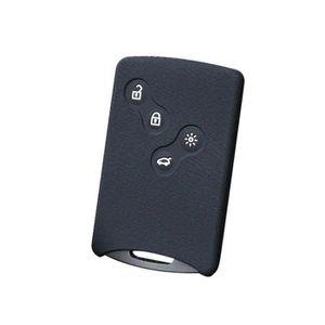 Transpondeur avec Batterie pr/êt pour la Programmation Cl/é T/él/écommande pour Renault avec Carte /Électronique 2 Boutons pour Megane 2 Scenic Clio Kangoo Dacia Duster 433Mhz PCF7946 ID46 Chip