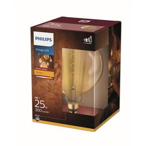 AMPOULE - LED PHILIPS LED Giant Globe Vintage Filament 5 équival