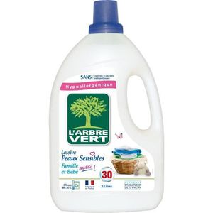 LESSIVE L'ARBRE VERT Lessives liquides - Pour peau sensibl