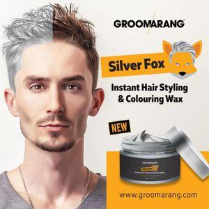 COLORATION  Silver Color Gris Cire à Cheveux Hommes Femmes Gr