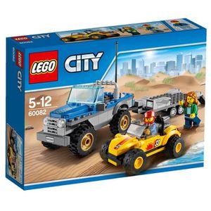 ASSEMBLAGE CONSTRUCTION LEGO® City 60082 Le Buggy des Dunes