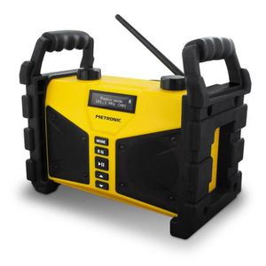 RADIO DE CHANTIER Radio de chantier Bluetooth 20 W avec port USB