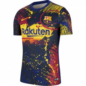 MAILLOT DE FOOTBALL MAILLOT FC BARCELONE TRAINING TOP ADULTE 2020 barc