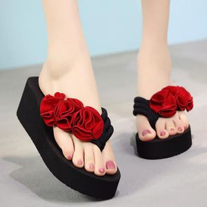 Femmes Chaussures Basses Pantoufles Talon Compense à la mode confortable loisirs brisé