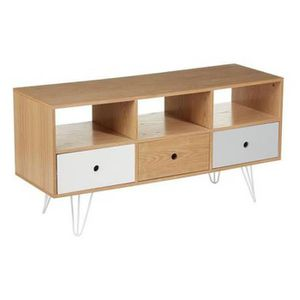 meuble buffet 140 cm achat vente meuble buffet 140 cm pas cher cdiscount. Black Bedroom Furniture Sets. Home Design Ideas