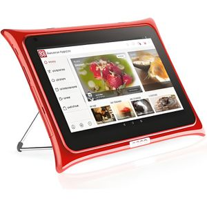 TABLETTE TACTILE QOOQ V4 rouge - Tablette tactile 10