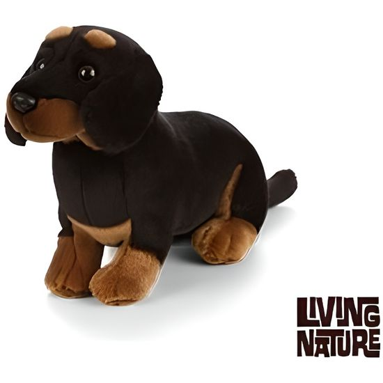 Peluche Living Nature Chien terrier West Highland en peluche 20 cm