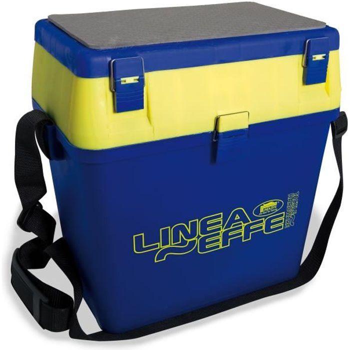 LINEAEFFE Boîte siège Big - Bleu et jaune