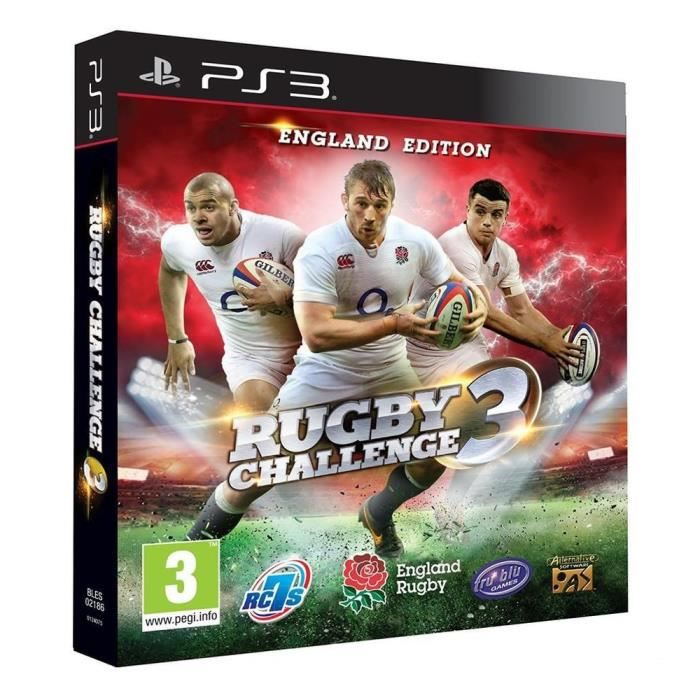rugby challenge 3 jeu ps3 achat vente console ps3 nouveaut rugby challenge 3 jeu ps3. Black Bedroom Furniture Sets. Home Design Ideas