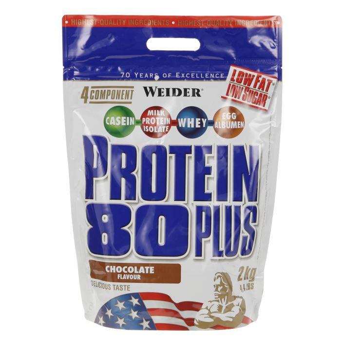 WEIDER Protein 80+ 2 kg Chocolat