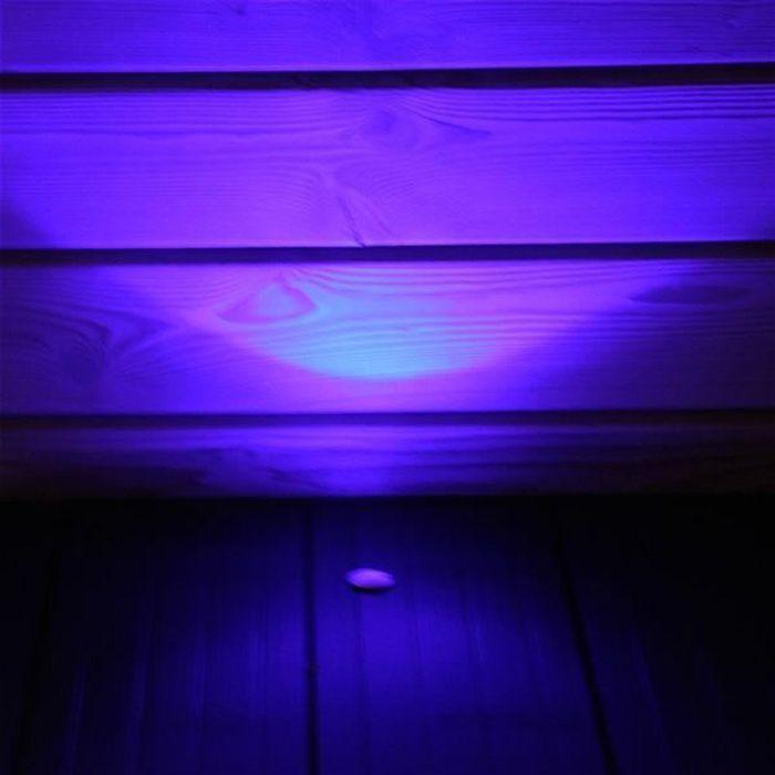 Pack mini spots LED encastrables Bleu 6 spots LED Sans