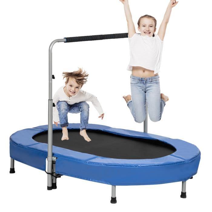 Poignée ajustable ovale double trampoline pour enfants