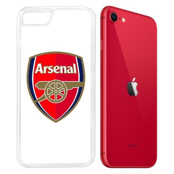 Coque iPhone SE 2020 - Arsenal Logo. Accessoire telephone