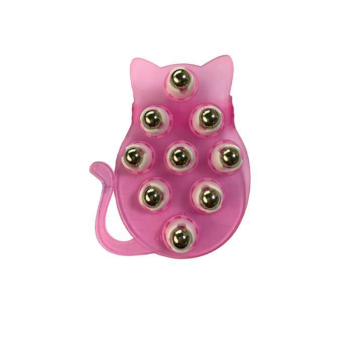 1 Pc masseur à bille d'acier à neuf perles de soulagement de la douleur accessoires de MEDECINE BALL - BALLON DE MUSCULATION