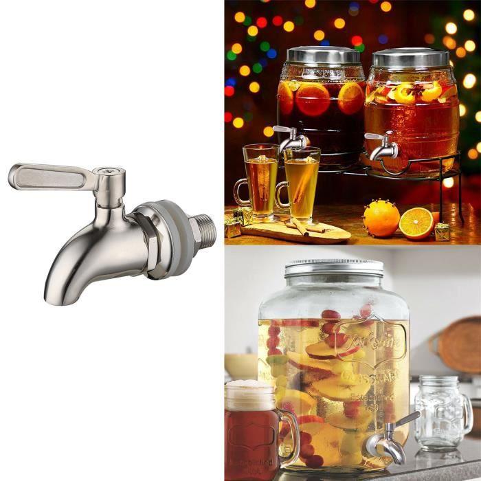 Distributeur d'eau de boisson en acier inoxydable robinet de robinet de baril de vin remplacement du robinet f4284