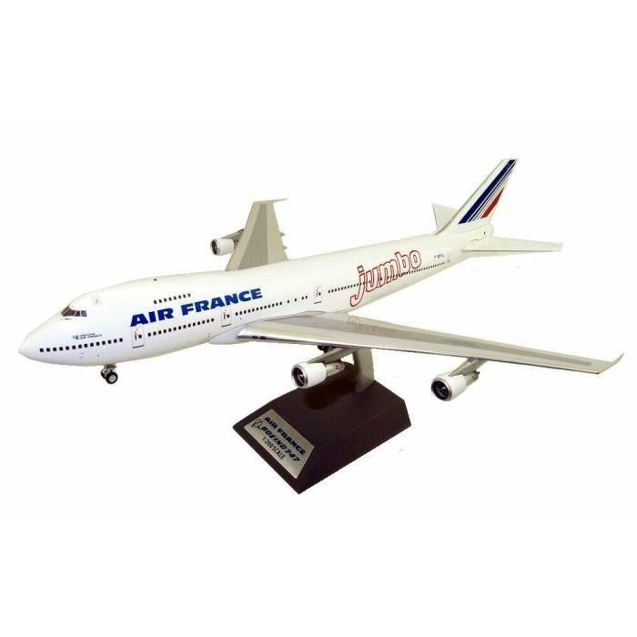 Maquette AIR FRANCE BOEING 747-100 Jumbo en Métal au 1/200 F-BPVL Série Limitée