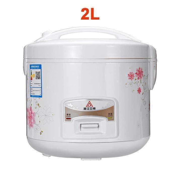Cuiseur à Riz Electrique à La Maison Chauffage Autocuiseur Soupe Gâteau Maker Multicuiseur Appareils De Cuisine 2L