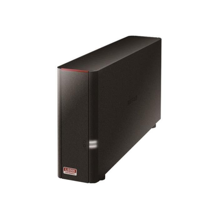 Buffalo Système de stockage Nas Linkstation 2 x Total de compartiments Realtek Dual core (2 cœurs) 1,10 Ghz 256 Mo Ram