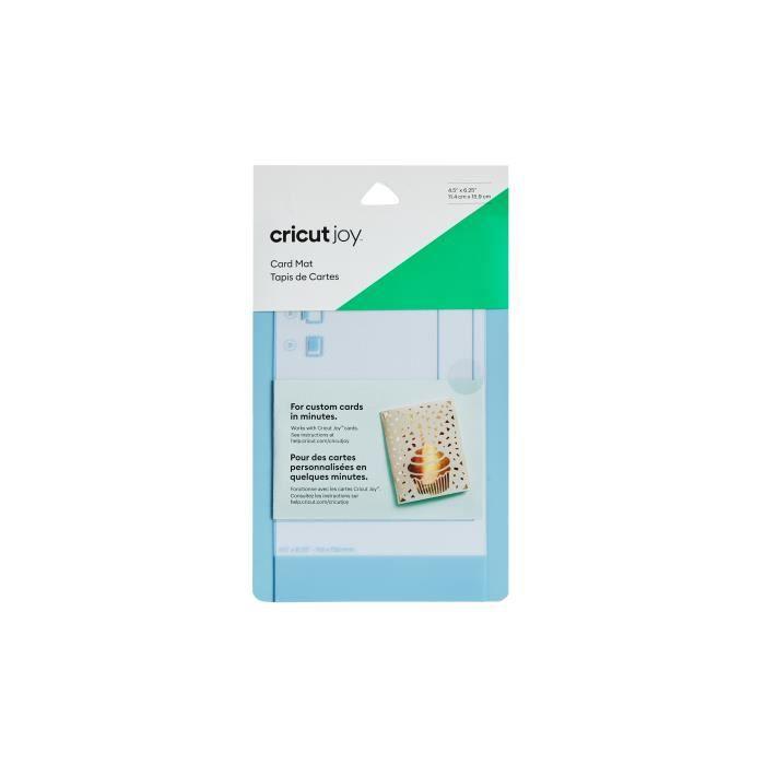 Cricut - Tapis découpe réutilisable spécial cartes - 11,4 x 15,9 cm