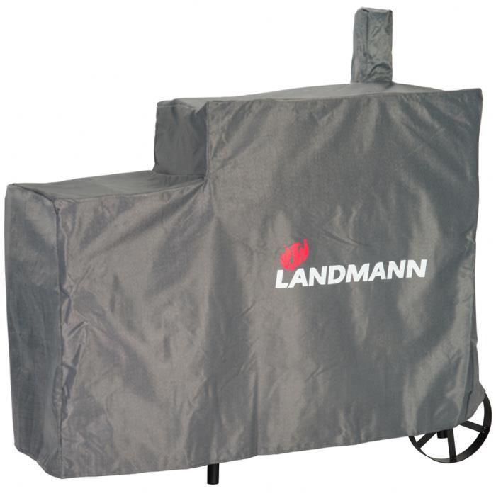 Landmann Housse de barbecue Premium L 130 x 60 x 120 cm Gris
