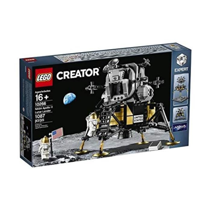 Jeu D'Assemblage LEGO PS5H5 Creator NASA Apollo 11 Lunar Lander Set 10266 New with Box