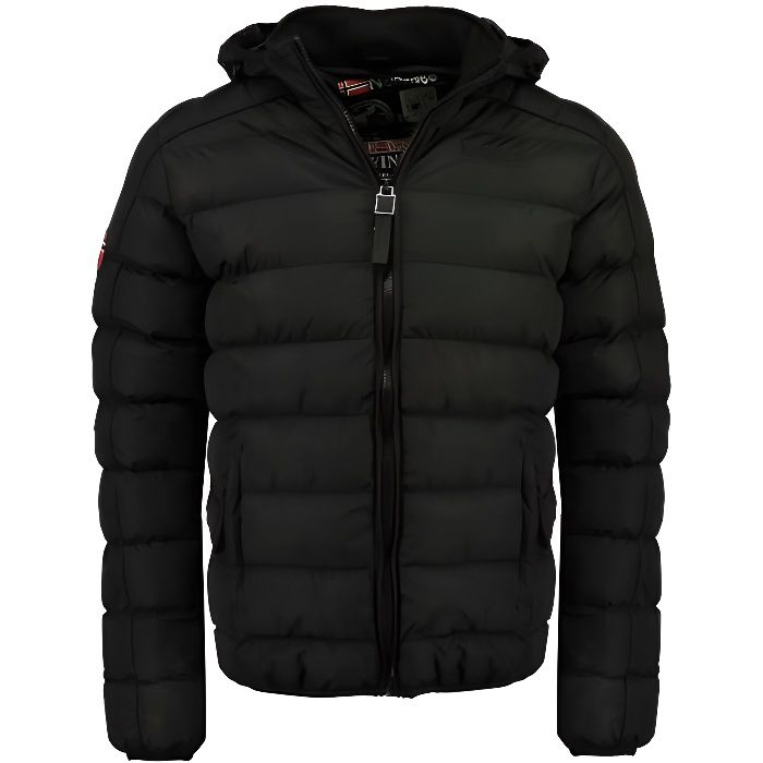 Doudoune Enfant Geographical Norway Bombe Noir
