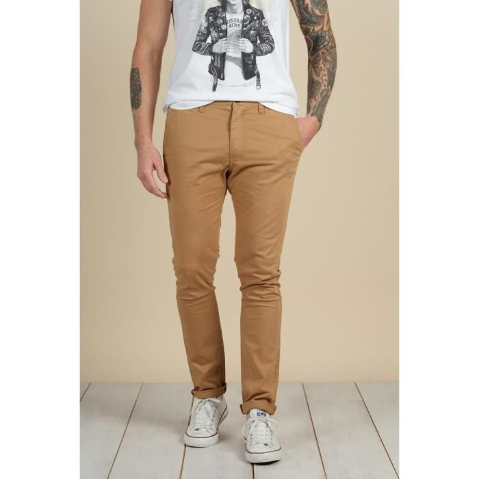 DEELUXE Pantalon chino BAKERY Camel