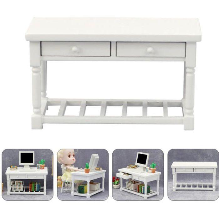 1pc belle exquise bureau de mini table en bois meubles en table console - console extensible meuble de sejour - entree