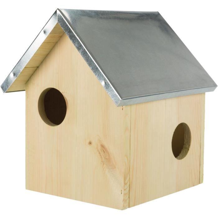 TRIXIE Hôtel - 24 × 29 × 26 cm - Pour écureuil