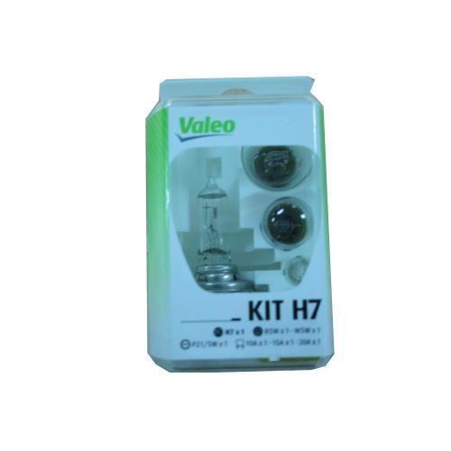 Coffret secours 7 ampoules H7 et H1 12 Volts Valéo 032308