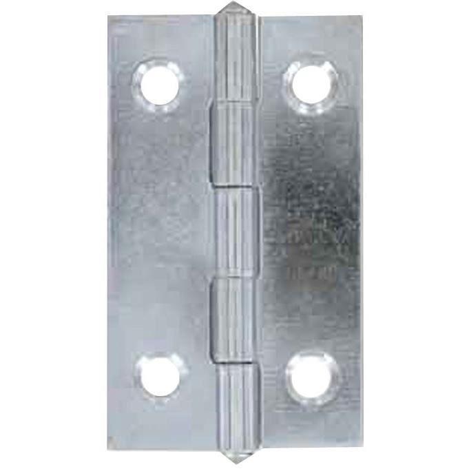 Charnière acier - 80x45 mm