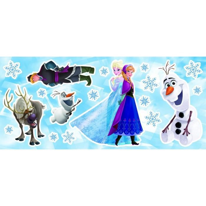 Stickers multi éléments La Reine des Neiges Disney Frozen