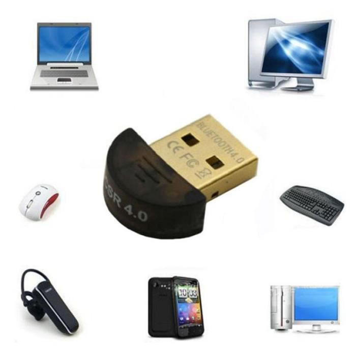 informatique materiel reseau wifi internet bluetooth mini usb v  dongle adaptateur double f auc