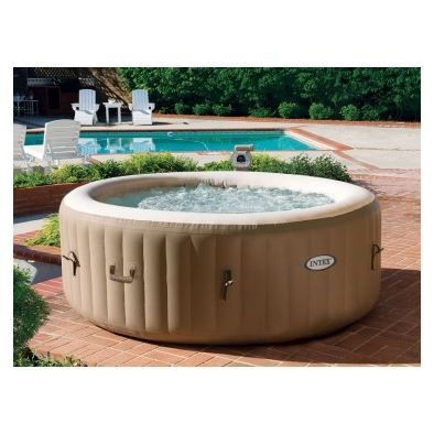 Spa gonflable pure 4 places beige veryspas achat vente - Jacuzzi gonflable occasion ...