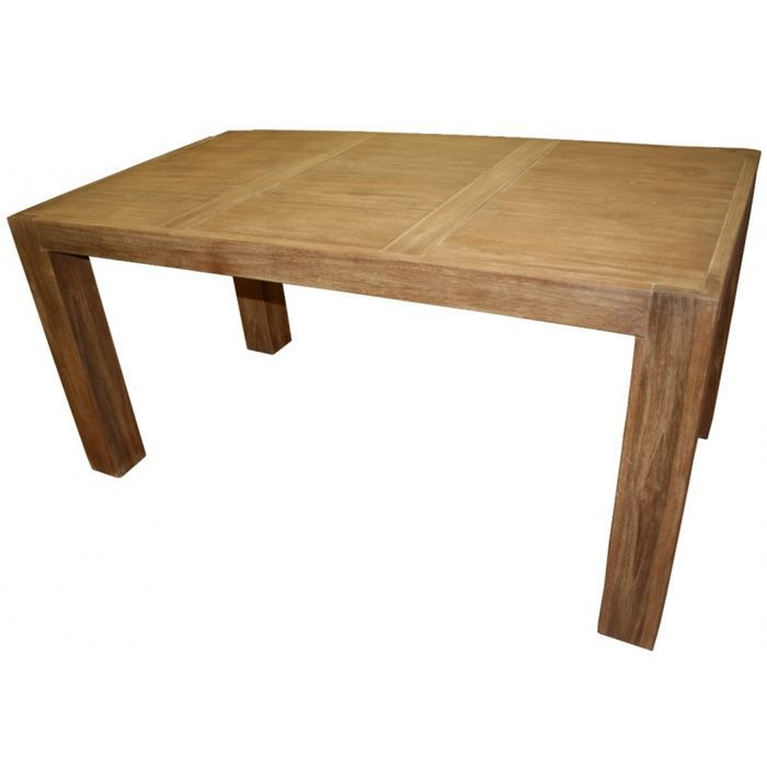 Table petit modele en teck achat vente table manger for Table a manger en teck