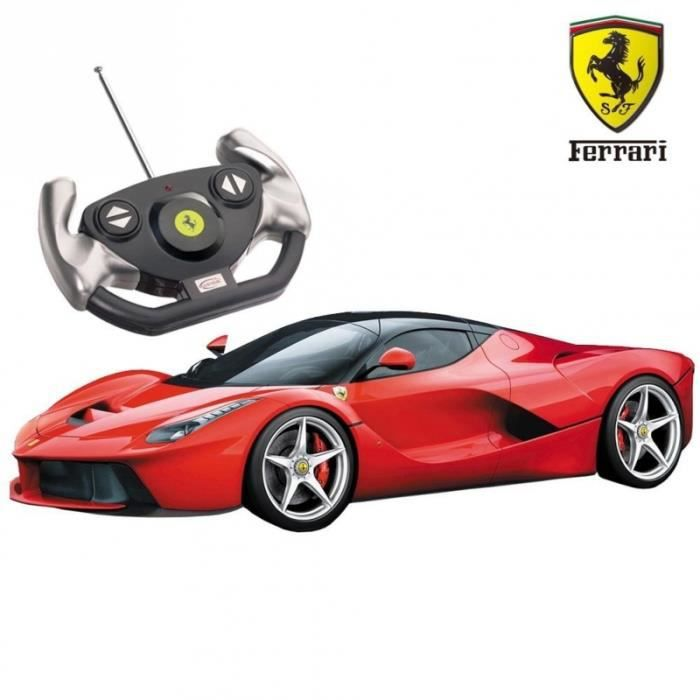voiture laferrari voiture t l command e 33cm 1 14. Black Bedroom Furniture Sets. Home Design Ideas