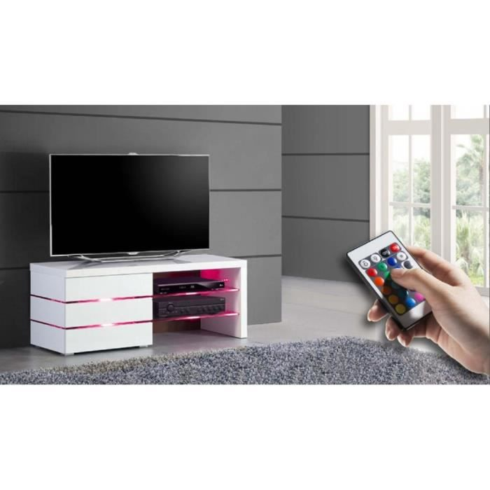 meuble tv design dudley small achat vente meuble tv meuble tv design dudley small cdiscount. Black Bedroom Furniture Sets. Home Design Ideas