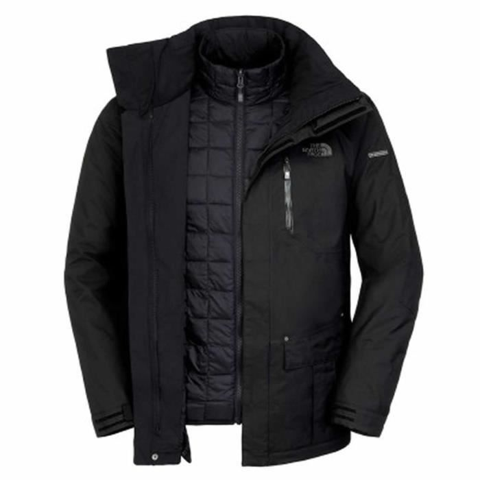 veste de ski homme the north face thermoball snow triclimate noir achat vente veste de sport. Black Bedroom Furniture Sets. Home Design Ideas