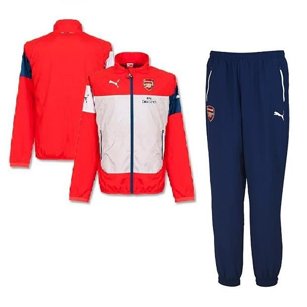 Ensemble Puma Arsenal 2014-2015 - Achat /