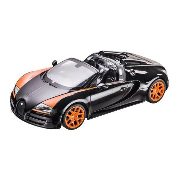 voiture t l command e bugatti veyron 16 4 achat vente voiture enfant cdiscount. Black Bedroom Furniture Sets. Home Design Ideas