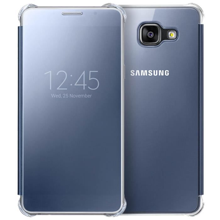 samsung etui clear view cover galaxy a5 2016 achat. Black Bedroom Furniture Sets. Home Design Ideas