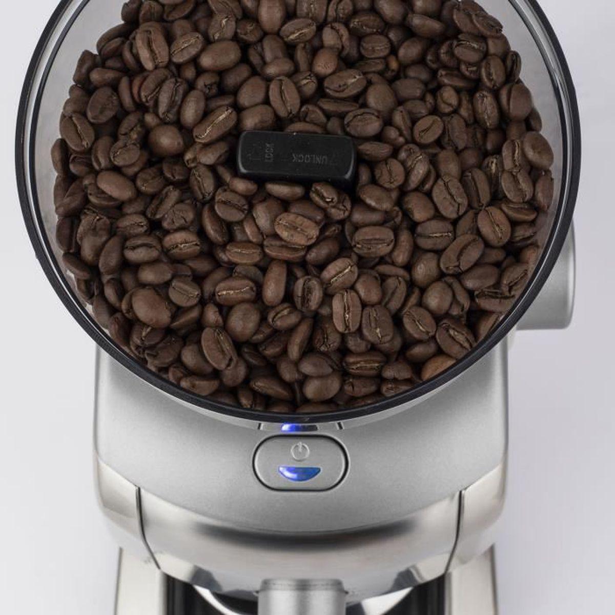 finesse de moulure fin /à grossier 160 watts convient /à la pr/éparation d/'expresso broyeur pour noix o 65g Moulin /à caf/é /électrique r/étro Moulin /à caf/é pour caf/é en grains