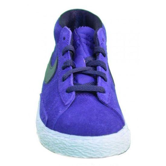 buying cheap los angeles super cute Nike Blazer Mid Vintage Ps Chaussures de Sport Fille Violet 549552 ...