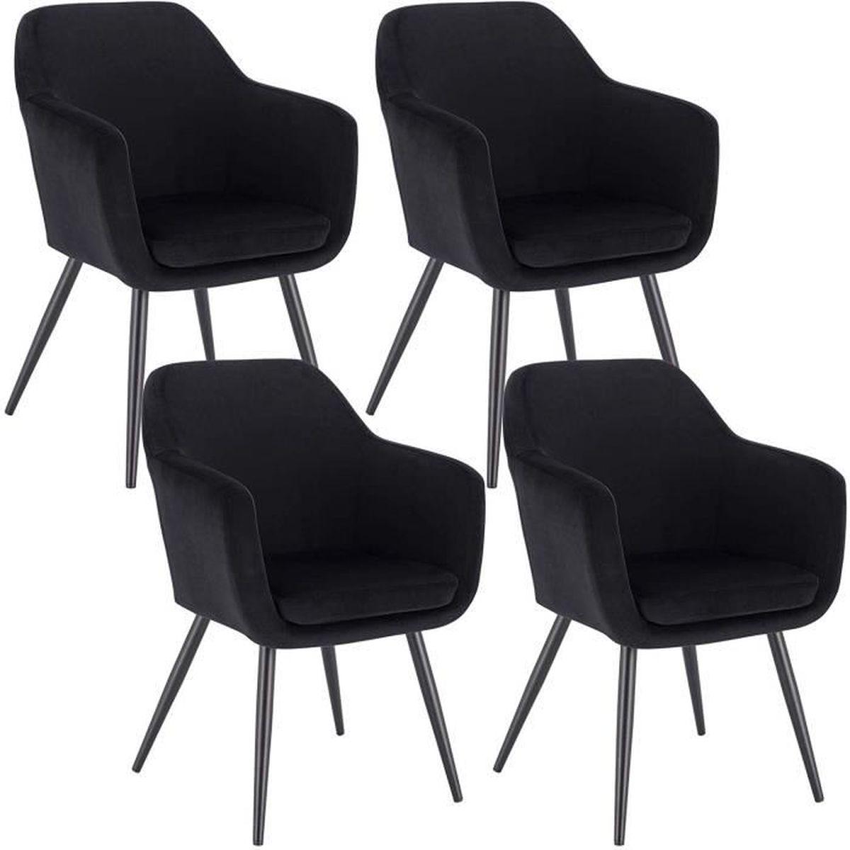 Lot de 7 chaises 7X7 CHASES Noire inspiree Master Kartell