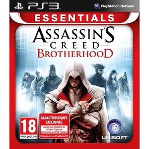 JEU PS3 ASSASSIN'S CREED BROTHERHOOD ESSENTIALS / Jeu PS3