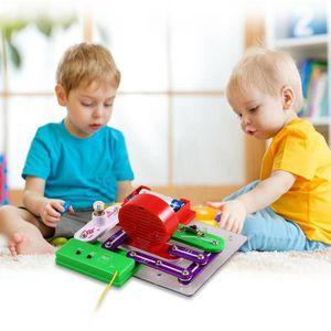 ASSEMBLAGE CONSTRUCTION Bloc de construction électronique enfant en plasti