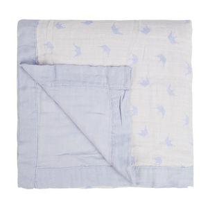 COUVERTURE - PLAID BÉBÉ 2 couches de couvertures en coton bambou - Couvert