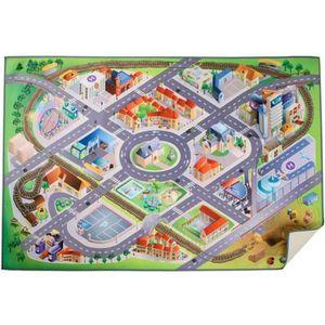 TAPIS DE JEU Tapis de jeu Métropole pour enfants - Avec routes,