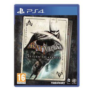 JEU PS4 Batman Return To Arkham : Playstation 4 , ML