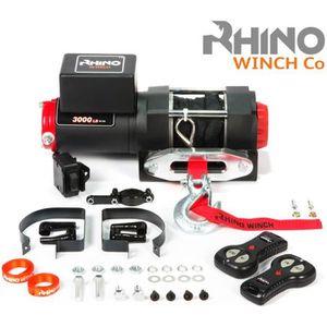 AUTO WINCH Rhino 12v treuil électrique 1360 kg corde
